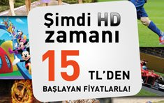 Monthly 15TL, D-Smart HD Campaign